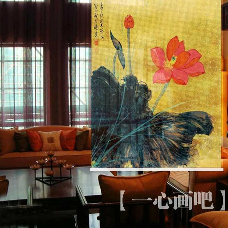Hanging Curtain Dividers Room Screens Printed Paintings Art Painting Fabric Painting Free