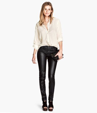 Faux Leather Pants- size small or 0/2 I would take these from any site/place, this was just a good example I what I want :)