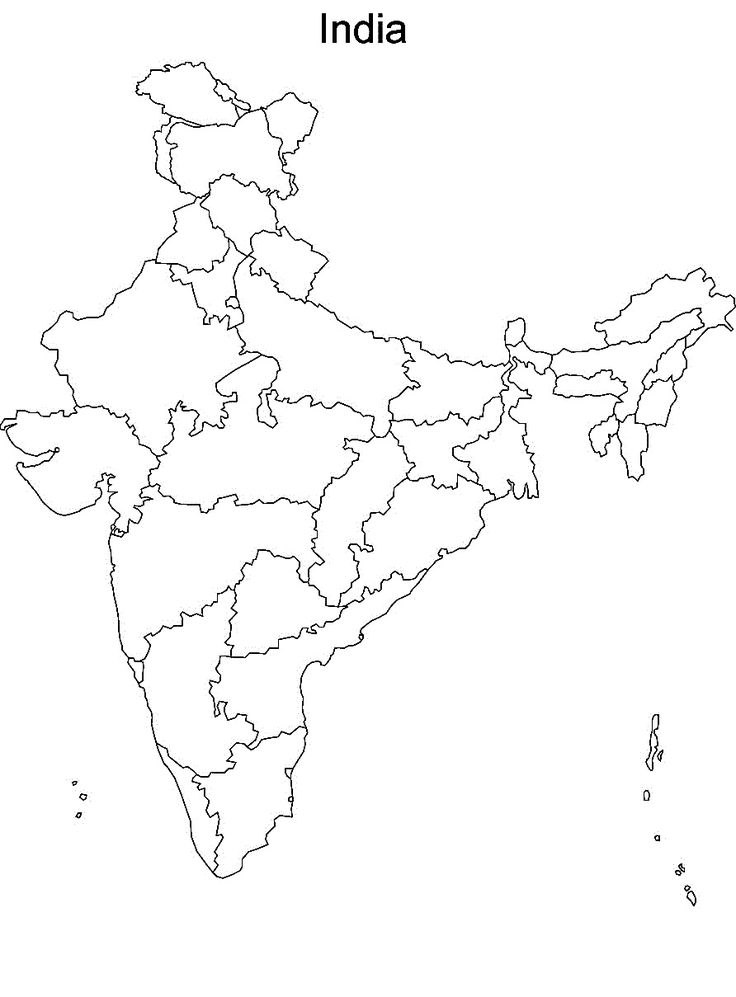 41 best Map of India With States images on Pinterest Cards Maps