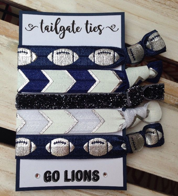 Penn State Game Day Hair Ties