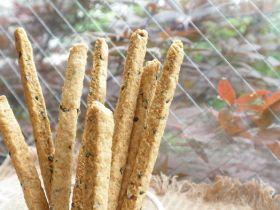 「胡麻プリッツ」lala sweets | お菓子・パンのレシピや作り方【corecle*コレクル】