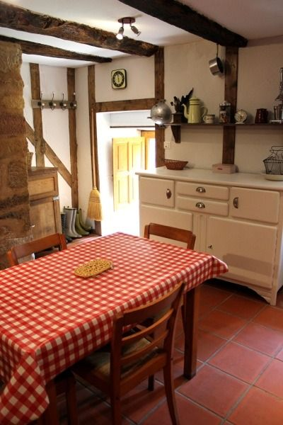 family uses 17th century tiny stone cottage in france for escapades photo - Stone Cottage Interiors