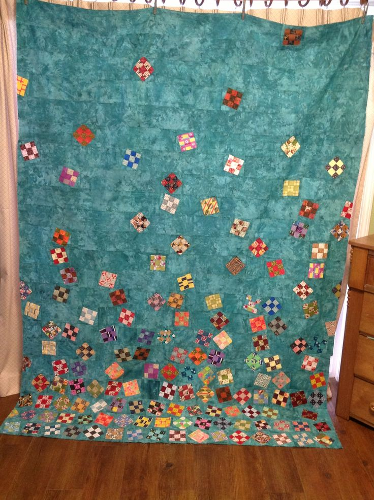 1000 Images About Nine Patch Quilts On Pinterest