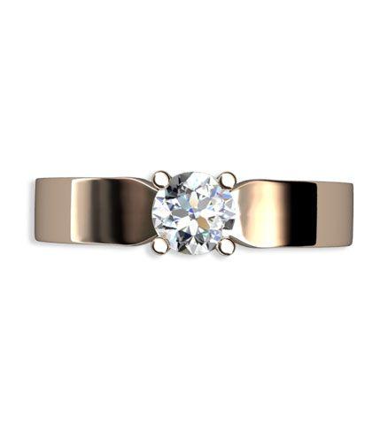 diamantring rosguld