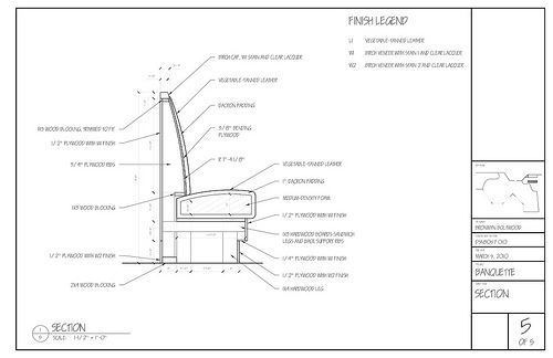 Banquette plans google search banquettes pinterest for Restaurant booth building plans