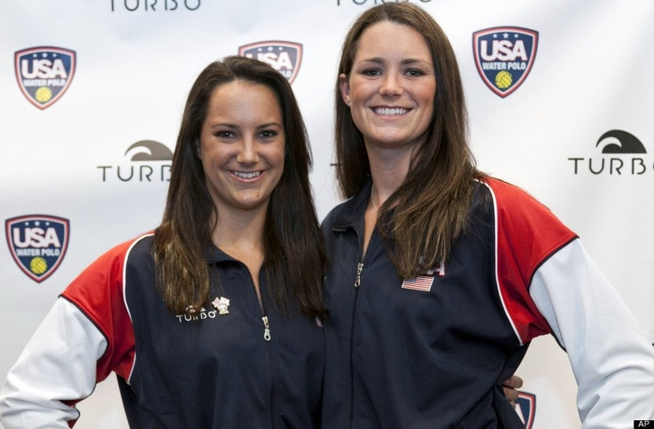 Maggie Steffens (Left)  From Danville  Event Waterpolo