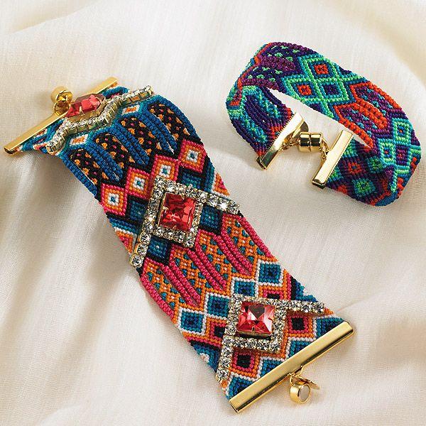 Woven Pattern Bracelets | Smithsonian Museum