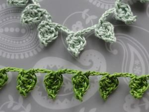 20 FREE Crochet Leaf Patterns for Every Season: Little Leaves Garland Free Crochet Pattern