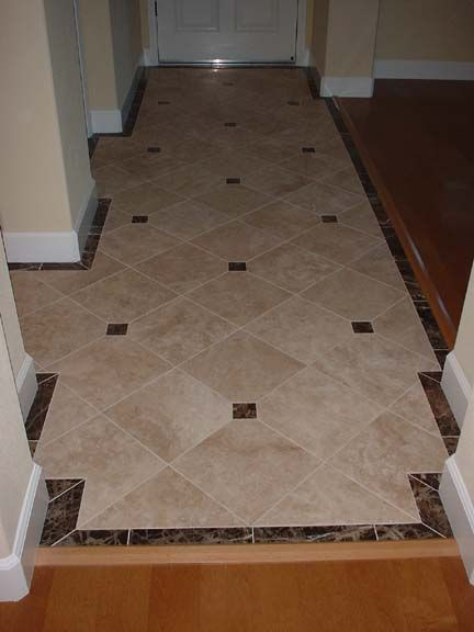 Foyer Tile Floor : Would like to see some neat tile designs for entryway