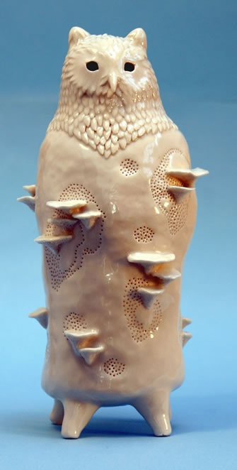 Sophie Woodrow. Ceramic. little owl