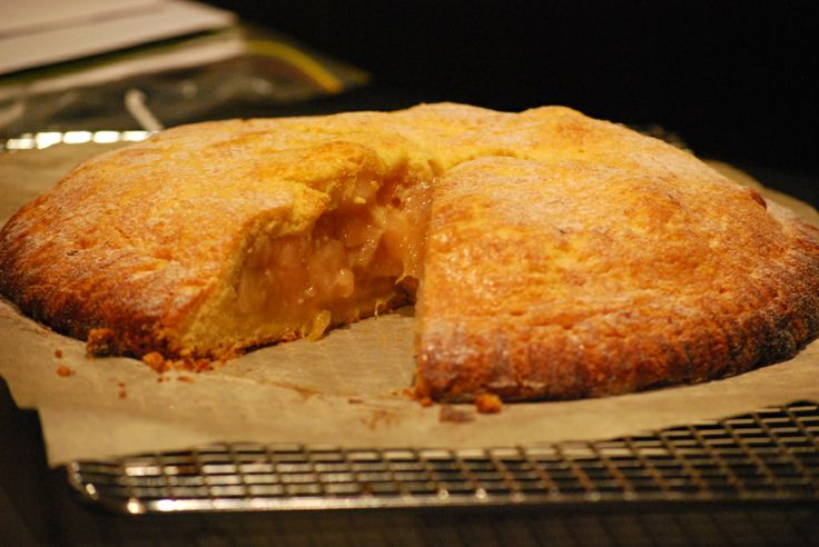 Robbie's Apple and #Rhubarb Pie #recipe for #Thermomix