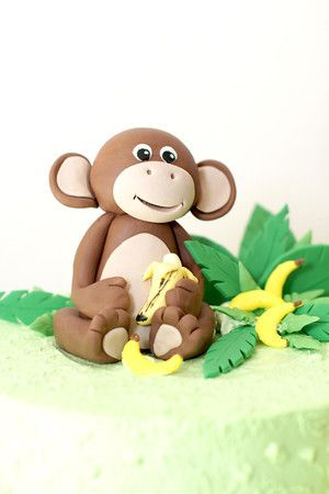 Fondant Monkey