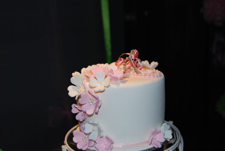 25th Anniversary Wedding Cake