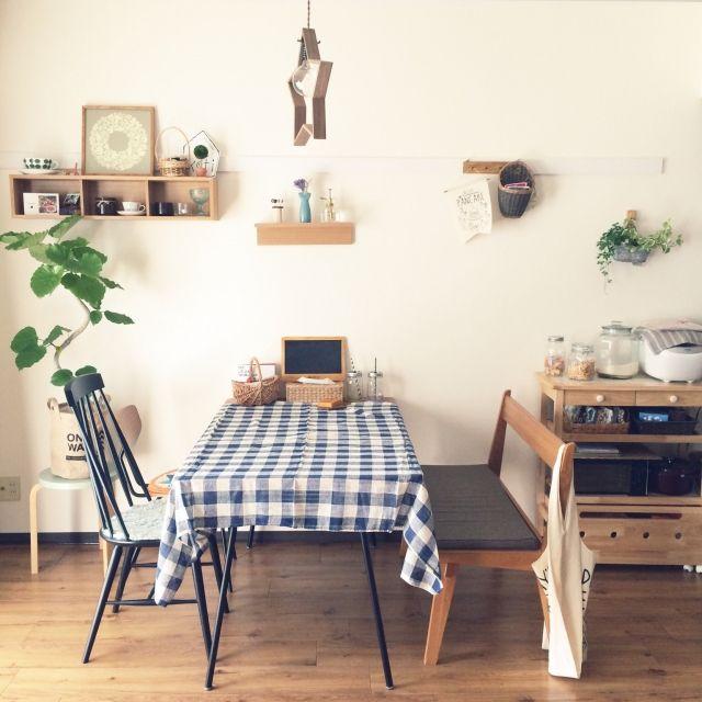 marioさんの、部屋全体,無印良品,ダイニング,北欧,二人暮らし,unico,リサラーソン,賃貸,北欧インテリア,北欧家具,北欧食器,ウンベラータ,観葉植物 ,男前もナチュラルも好き,グリーンのある暮らし,IG→mariomi324,のお部屋写真