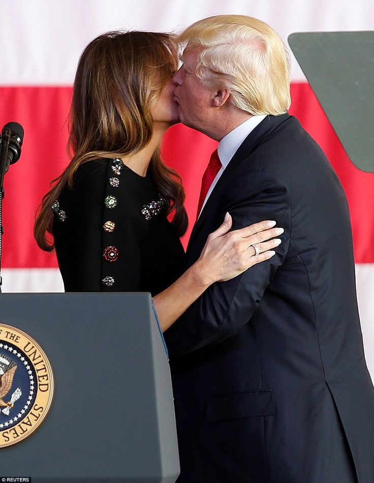 Proud Melania signs off after winning hearts on first foreign trip #dailymail