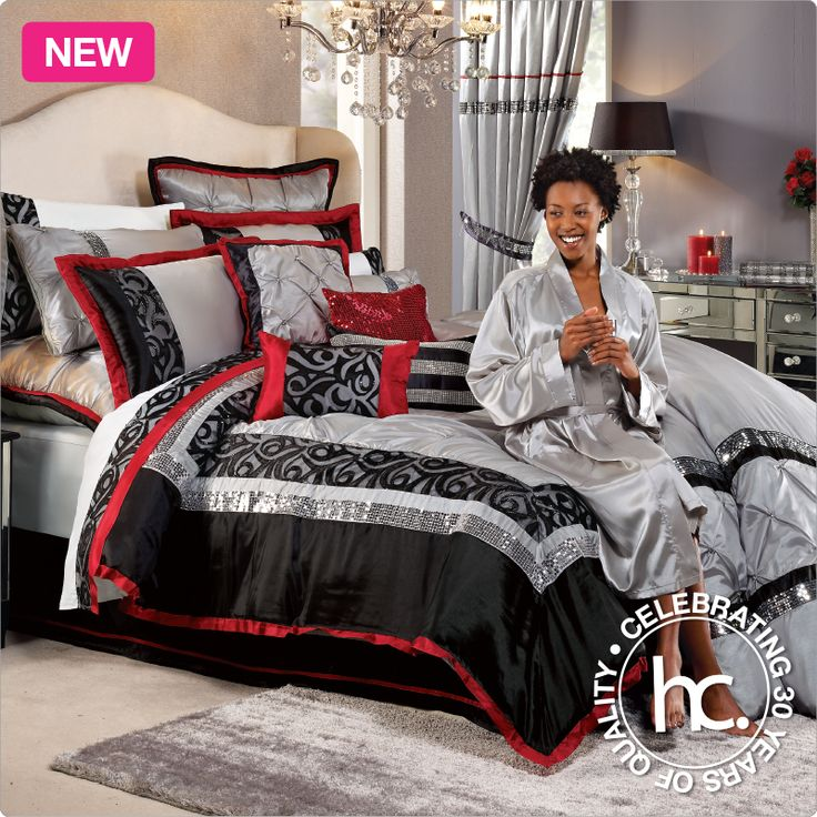 The Rochelle bedding set is timeless glamour, designed for you!