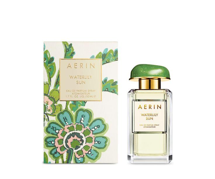 Aerin Waterlily Sun Perfume (top notes: lush dewy greens, Sicilian bergamot)