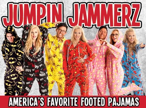 Footed Onesie Pajamas - One Piece Pjs For Adults, Men, Women ...