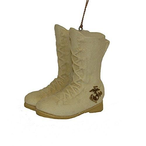 """2.75""""RESIN MARINE CORPS BOOTS ORN"""