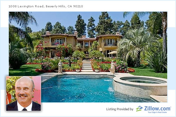12 Celebrity Homes For Sale - CNBC    Dr. Phil