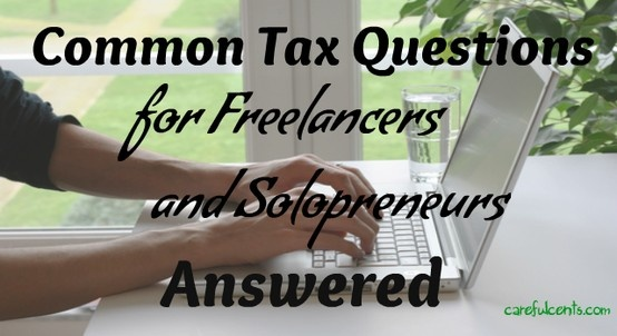 Common tax questions for freelancers and #entrepreneurs answered