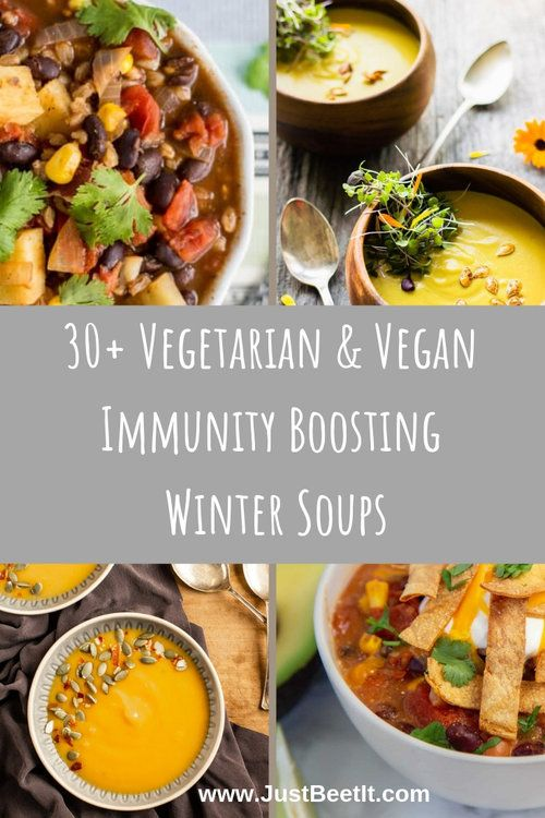 30 Vegetarian And Vegan Winter Soups To Boost Your Immunity