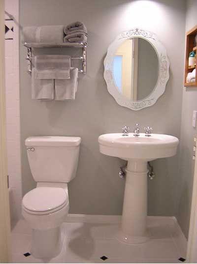 Ideas para decorar un cuarto de baño pequeño. | decoraciones ...