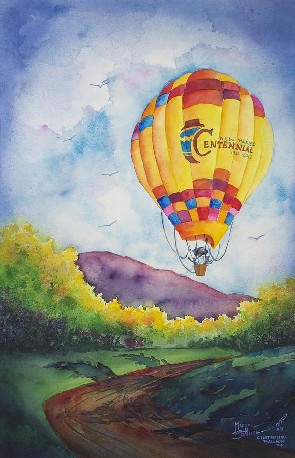 Centennial Balloon Too Painting