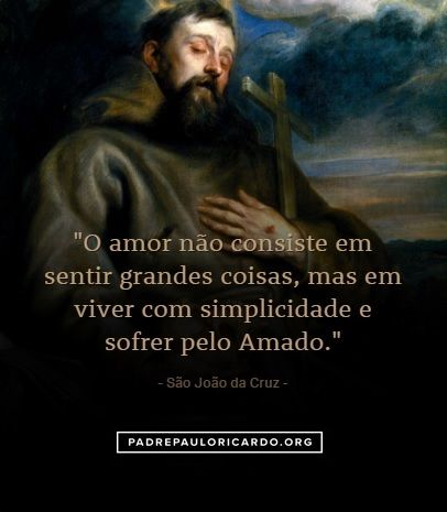 São João Da Cruz Frases Religiosidade Pinterest Catholic