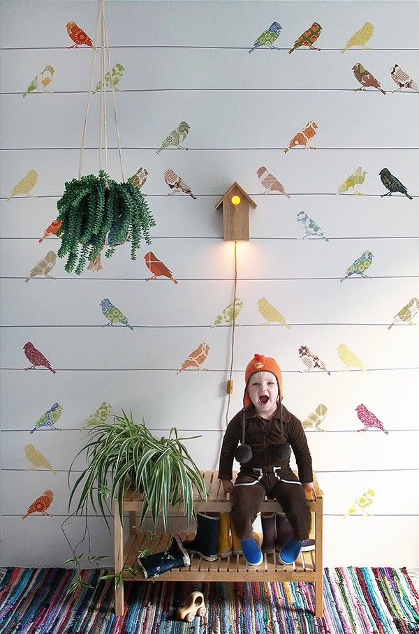 New Vintage Wallpaper Collection For Kids By Inke - Petit & Small