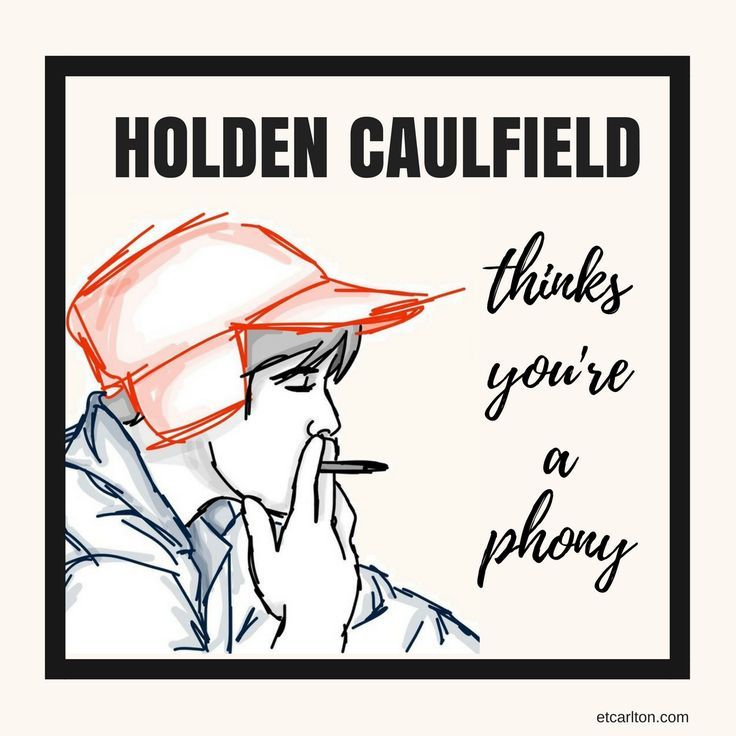 the loneliness of holden caulfield in the catcher in the rye Holden caulfield is the protagonist of the catcher in the rye, and the most important function of these early chapters is to establish the basics of his personality from the beginning of the novel, holden tells his story in a bitterly cynical voice.