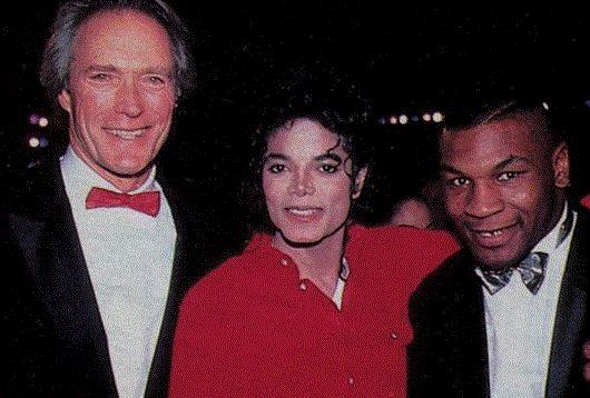 Clint Eastwood, Michael Jackson (RIP) & Mike Tyson