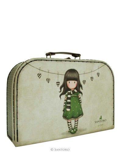 Santoro London Large Suitcase Box-Gorjuss The Scarf