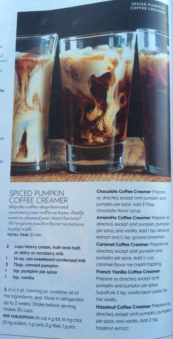Spiced Pumpkin Coffee Creamer - Better Homes Gardens