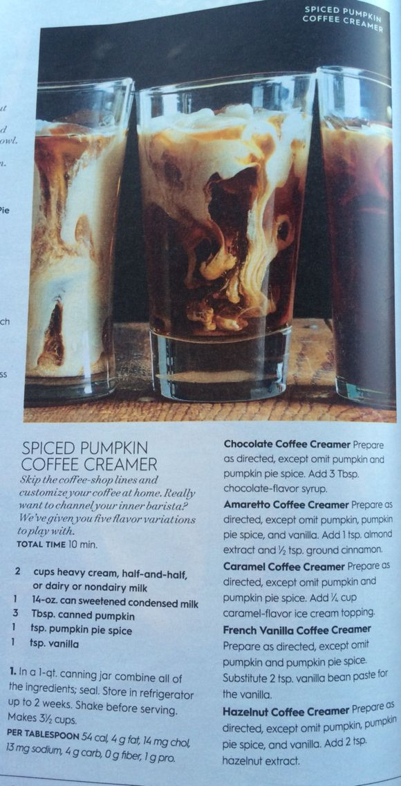 Spiced Pumpkin Coffee Creamer - Better Homes Gardens