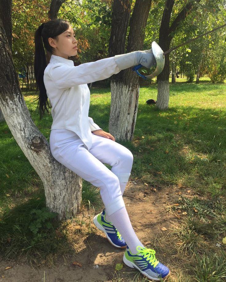 """42 Likes, 3 Comments - ФЕХТОВАНИЕ. Спорт. (@fencing_in_astana) on Instagram: """"______________________________________________▪️ #фотосессия — """"До свидания, ЛЕТО!"""" ▪️#model —…"""""""