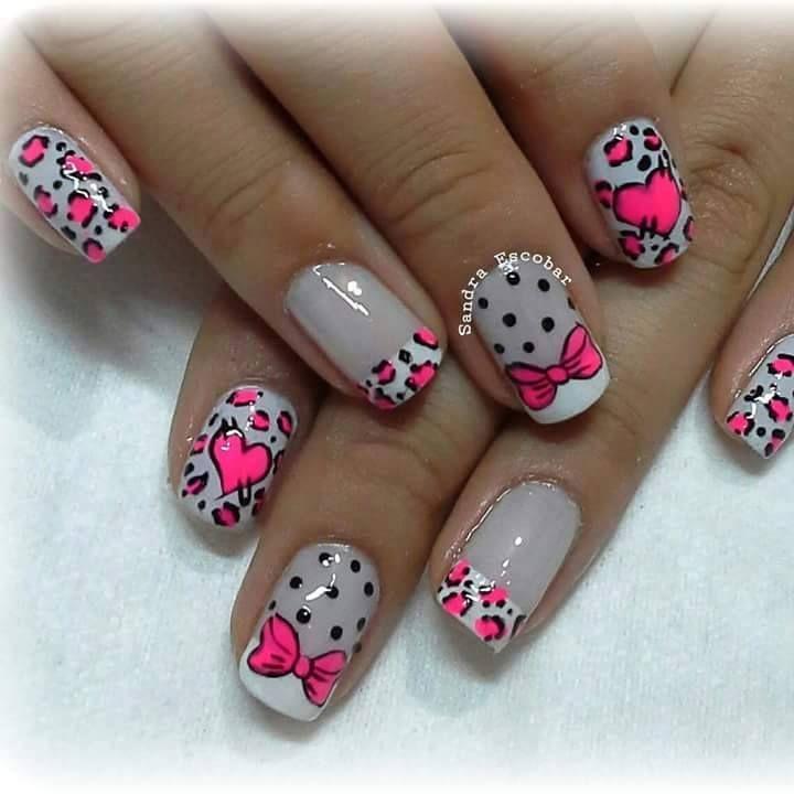 55 best images about pink fucsia on pinterest animals for Decoracion de unas hermosas
