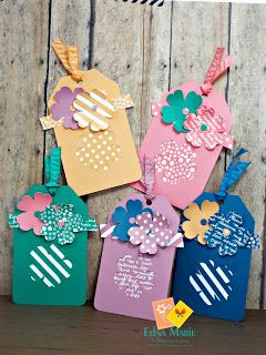 Stampin Up New Colors 2016-2017 Peek! | Edna Marie