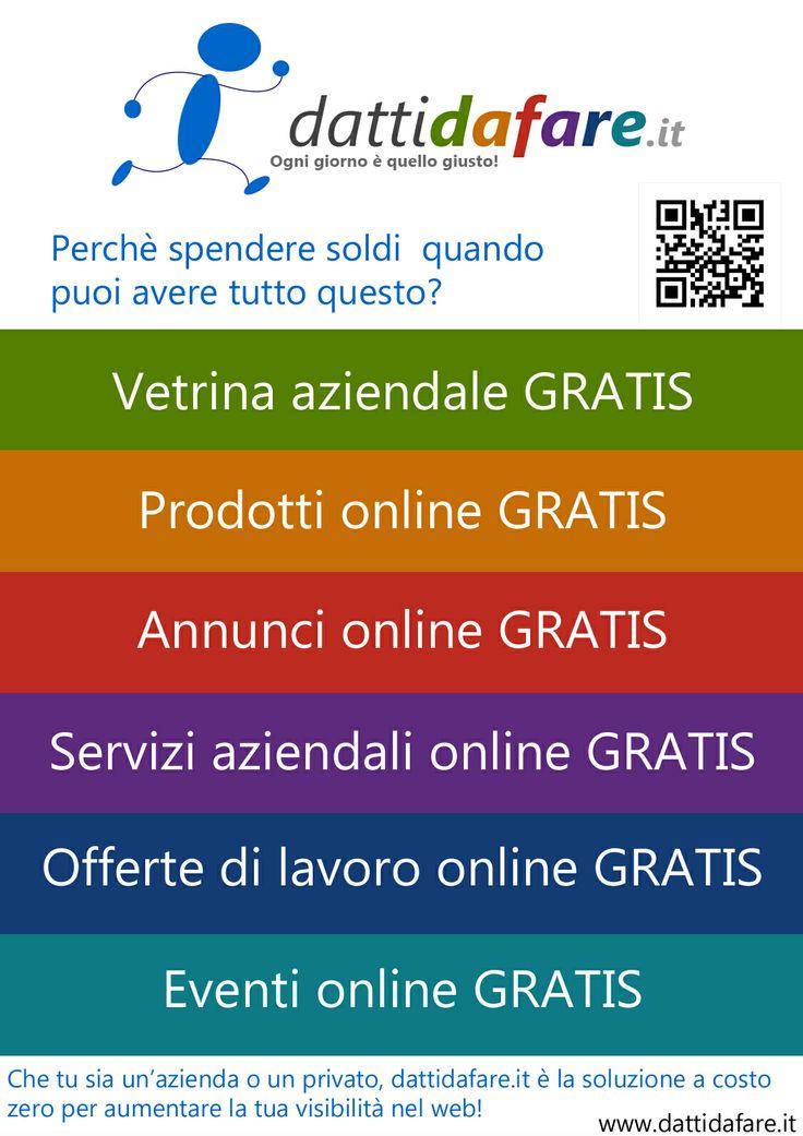 I nostri servizi gratis su dattidafare.it