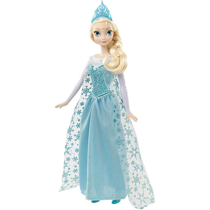 """Disney Frozen Singing Elsa Doll 