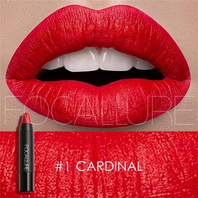 FOCALLURE 12 Colors Waterproof Long Lasting Lip Makeup Matte Lip Stick