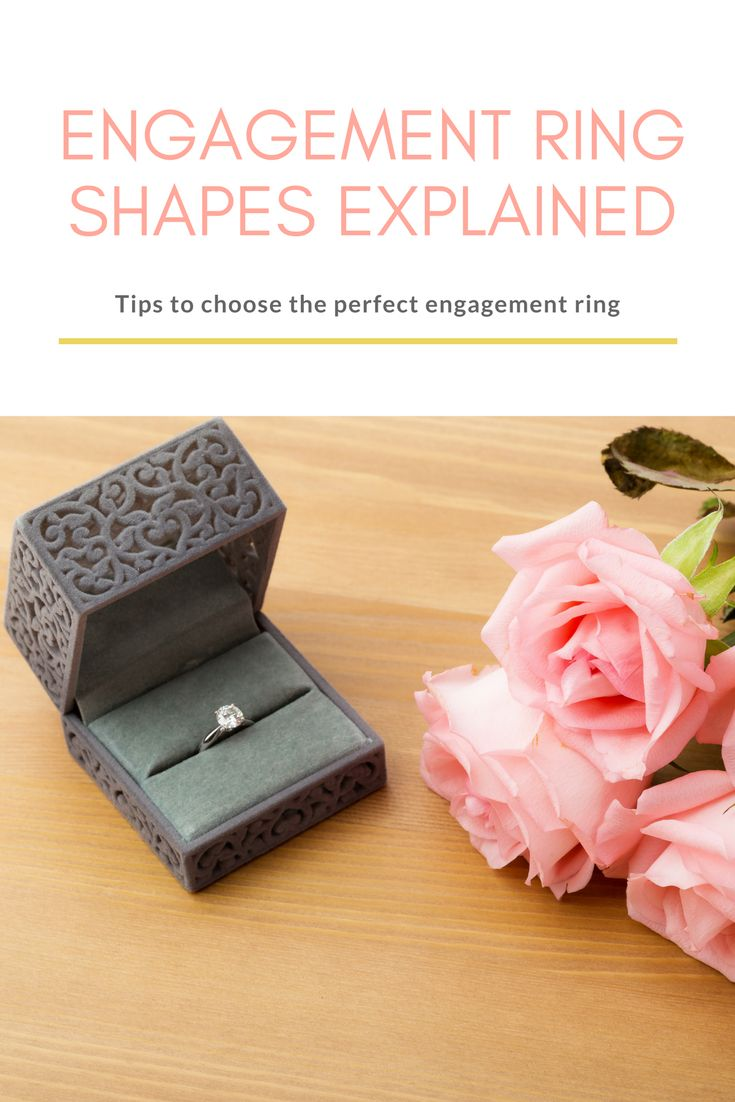 Your Guide to Engagement Ring Shapes | Everything you need to know about engagement ring shapes to help you pick out the perfect engagement ring. From princess cut engagement rings and oval engagement rings to halo engagement rings and pear shaped engagement rings, we've got them all covered! #angelicdiamonds #engagementring #wedding