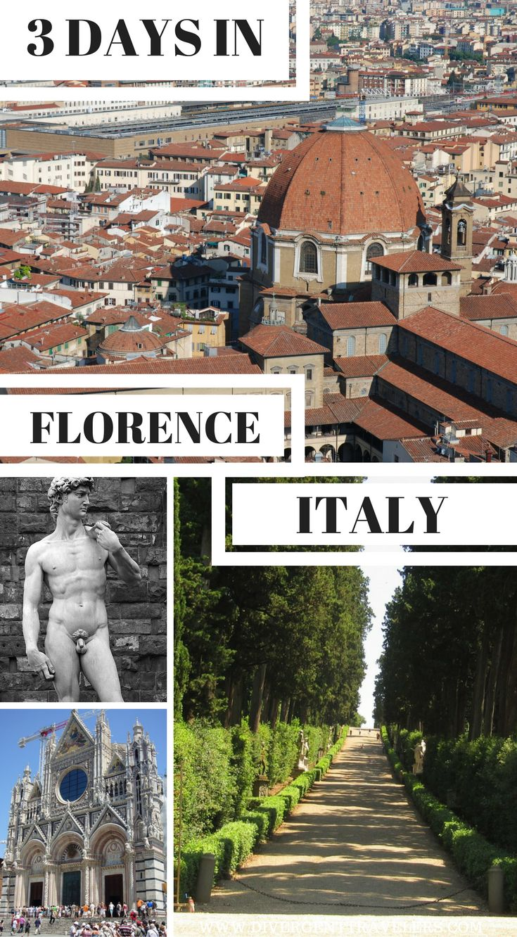 3 days in Florence, Italy. Planning a trip toFlorence, Italy? Use our72-hour Florencevacation travel guide for the perfect long weekend itinerary, including the best accommodations, attractions and restaurants. Click to read 3 Days in Florence, Italy – What to do in Florence, Italy.  #Florence #Itlay#Travel#Guide