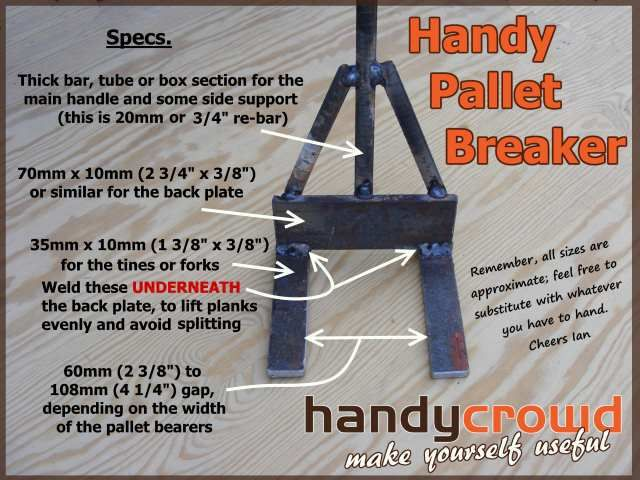 Pallet breaker free plan to make it