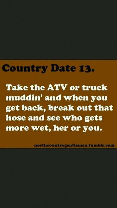 Country date #13