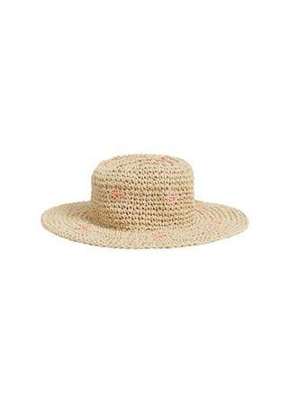 MANGO KIDS - Yıldızlı hasır şapka