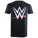 Geek Clothing WWE Mens Logo T-Shirt - Black - L RGMTS258BLK  (Barcode EAN=5052777354522) http://www.MightGet.com/january-2017-11/geek-clothing-wwe-mens-logo-t-shirt--black--l-rgmts258blk.asp
