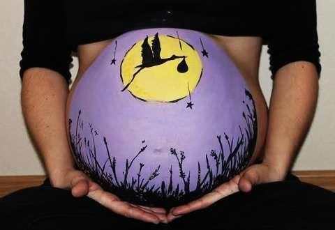 Body Paint para embarazadas: fotos ideas (Foto 13/18) | Ella Hoy