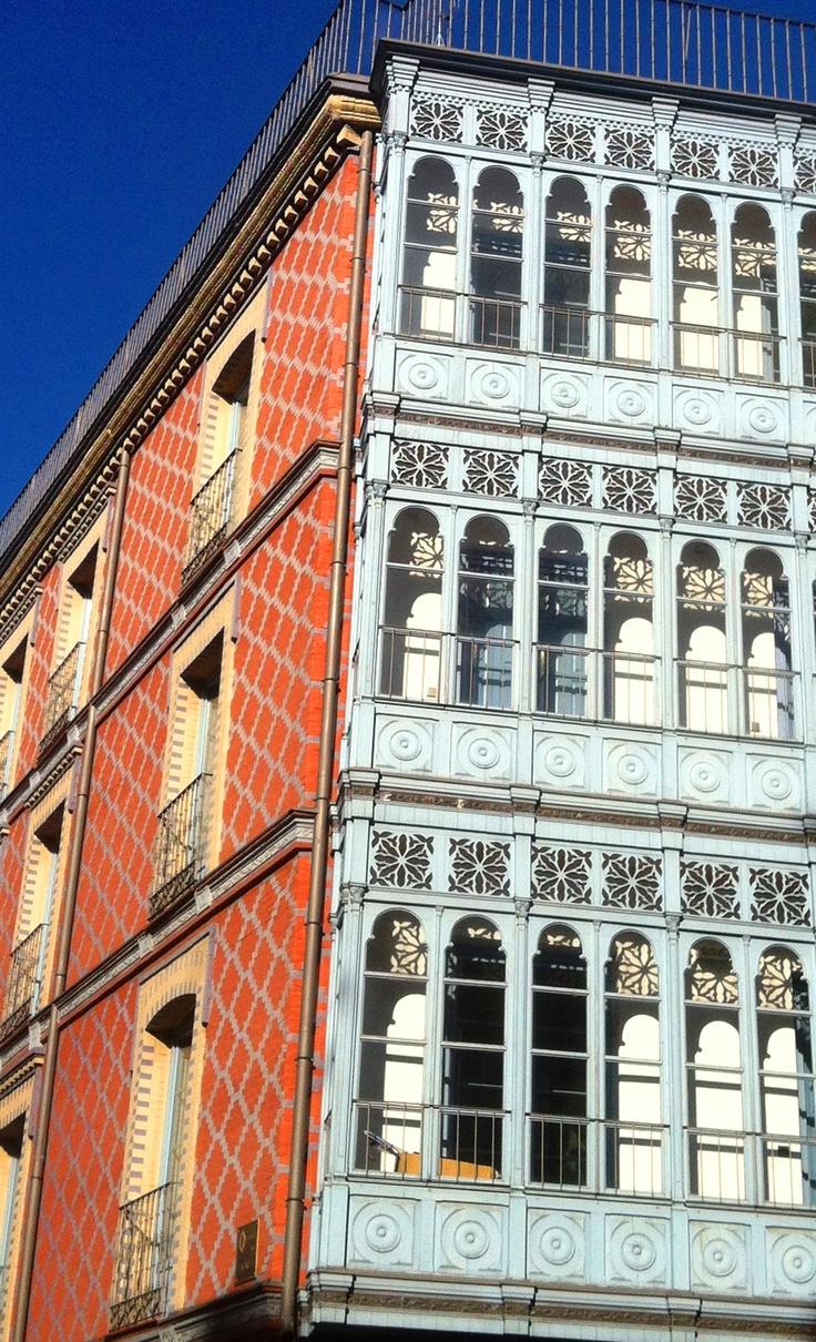 En el casco antiguo de Valladolid (España)