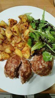 Küchenfee Mama: * Fleischküchle und Kartöffele nach Oma Rosi ❤ *